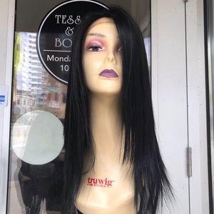 Handbags - Black Swisslace Freepart Wig Lacefront 2019 New
